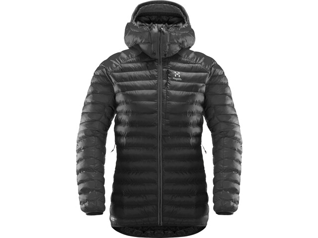 Haglöfs Essens Mimic Hood Jacket Women slate